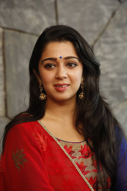 Charmi Stills At Jyothi Lakshmi Movie Interview