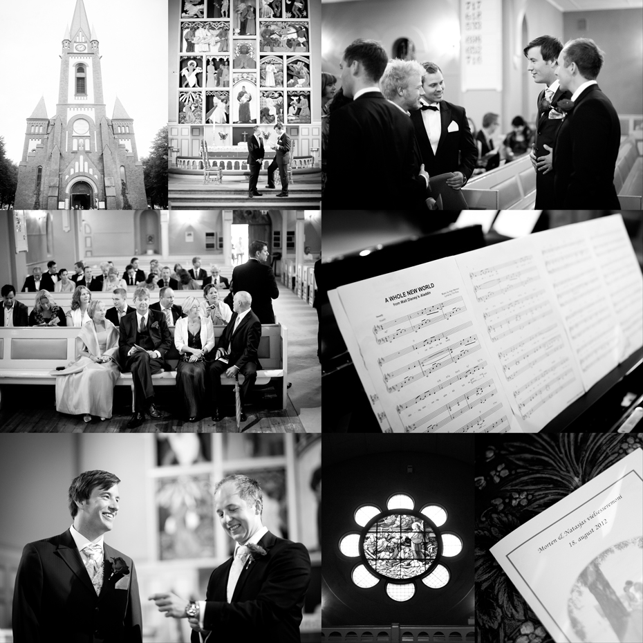 Bryllup i Sandefjord kirke - vielse -