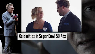 All Celebrities that Appear Super Bowl 50 Ads