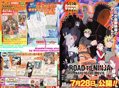 Plot Film Naruto Road to Ninja + Scan Terbaru 1