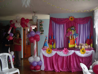 Decoración Princesas