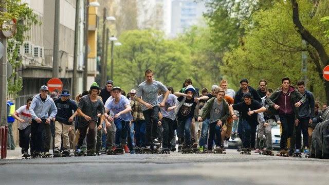 #First Skate Revolution Take Back The City, lifestyle blog, skateboarding, skate tips, budapest skate scene