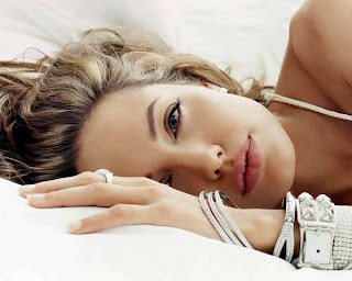Angelina Jolie in 2013 romantic pose