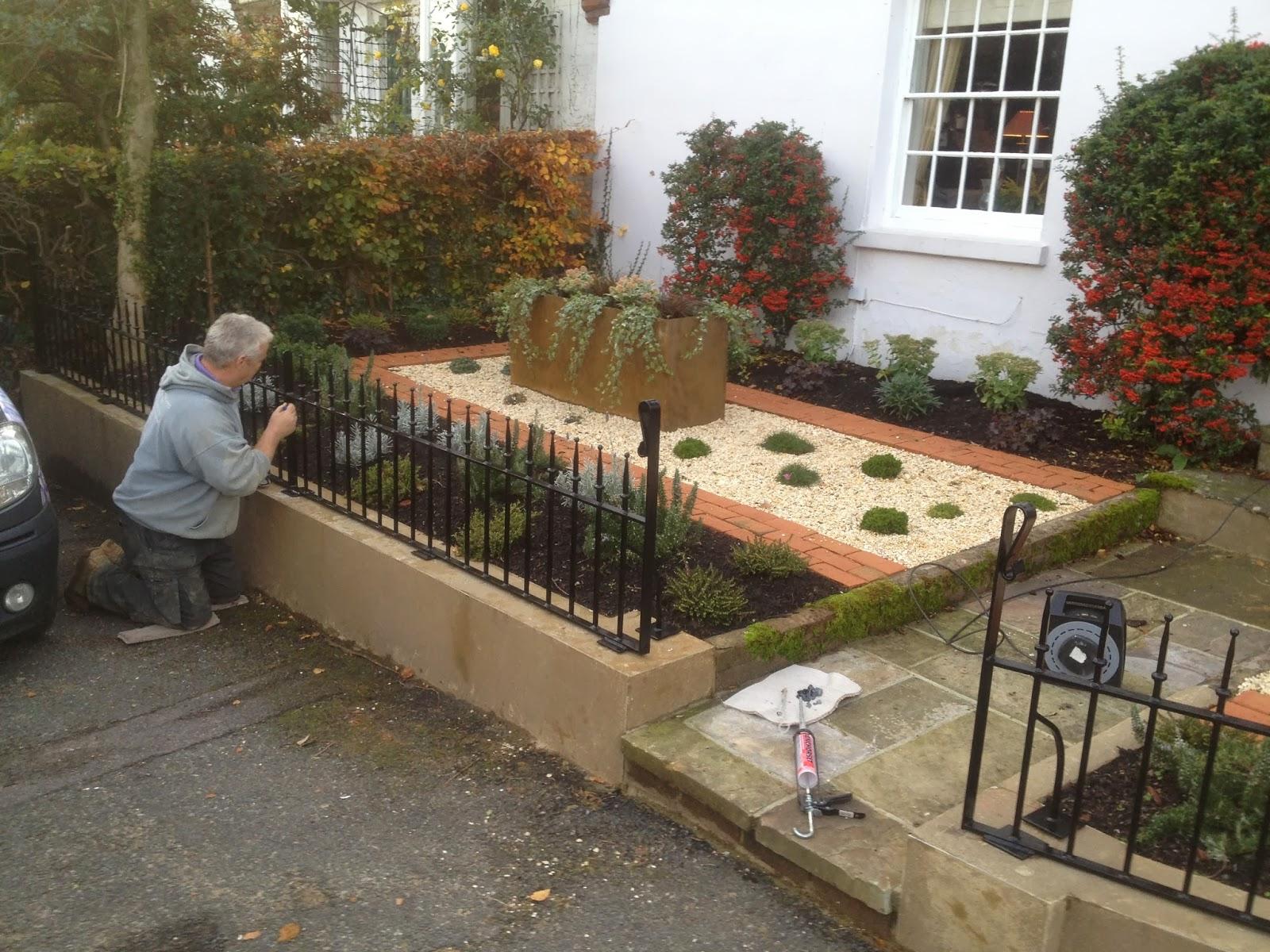 Orchard Priory Blog - Landscape Design & Build: Elham - Front Garden ...