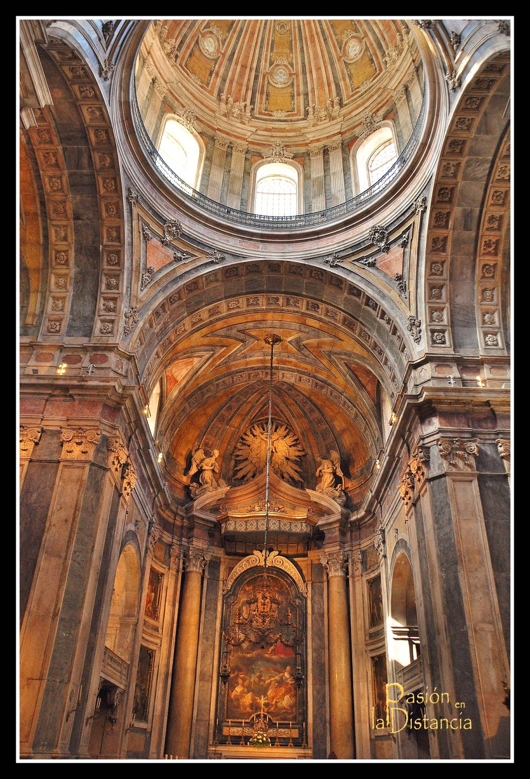 Capilla Mayor Basílica de La Estrella Lisboa Portugal Monumentos Viajes Museos