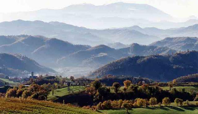 Marche.Macerata+Feltria+panorama a