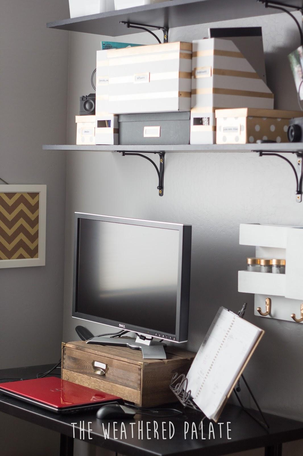 Office Organization + Ikea Hacks