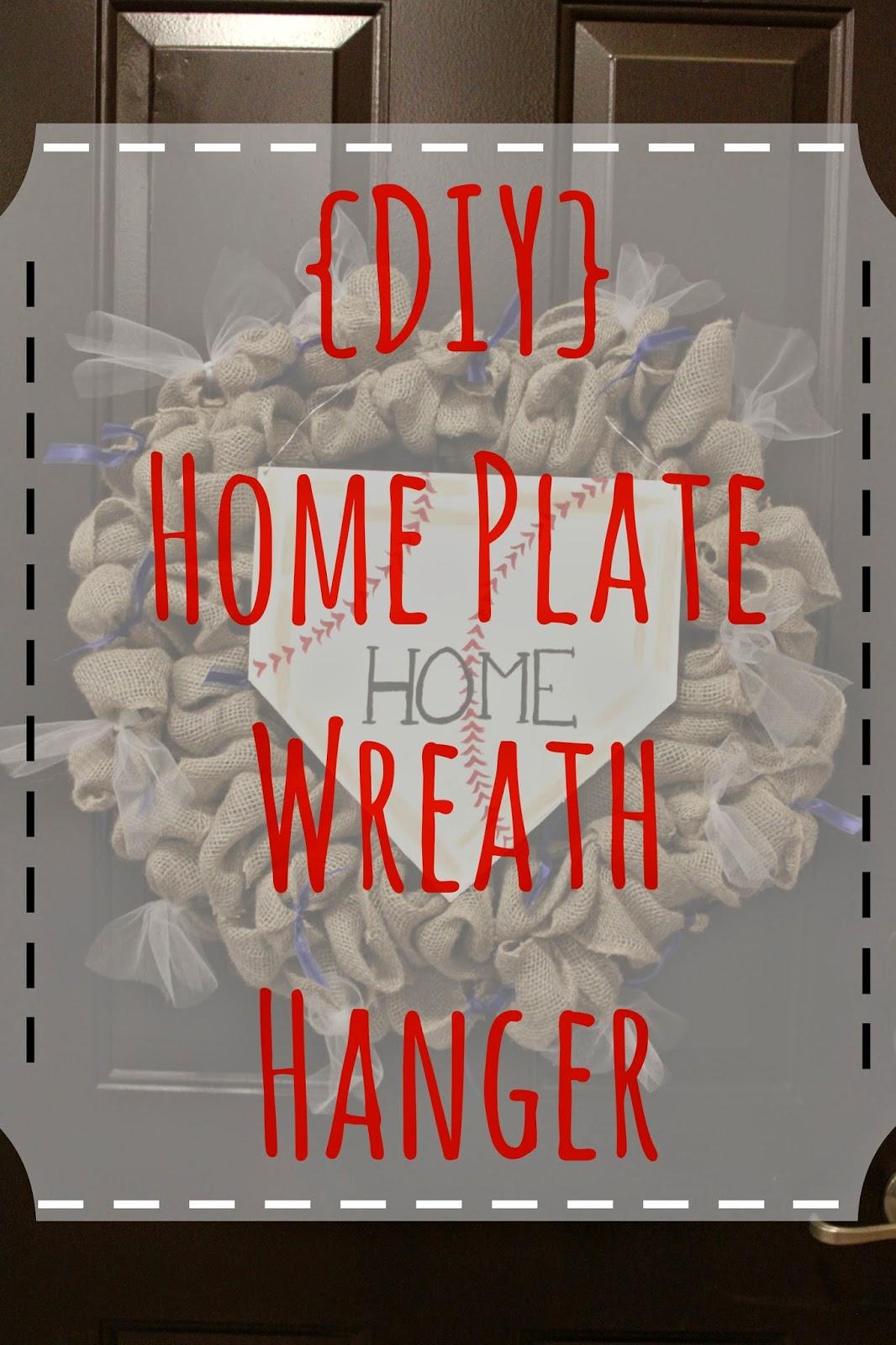 Tastebud Travels Diy Home Plate Door Hanger