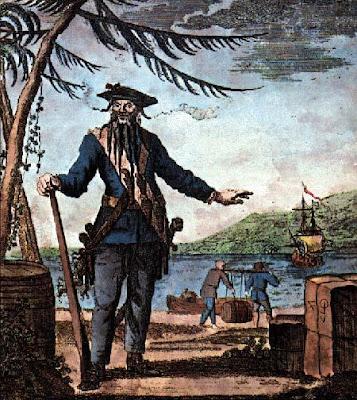 黑鬍子海盜 真有其人