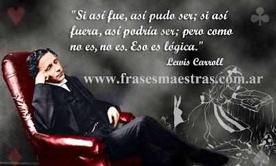 frases de Lewis Carroll