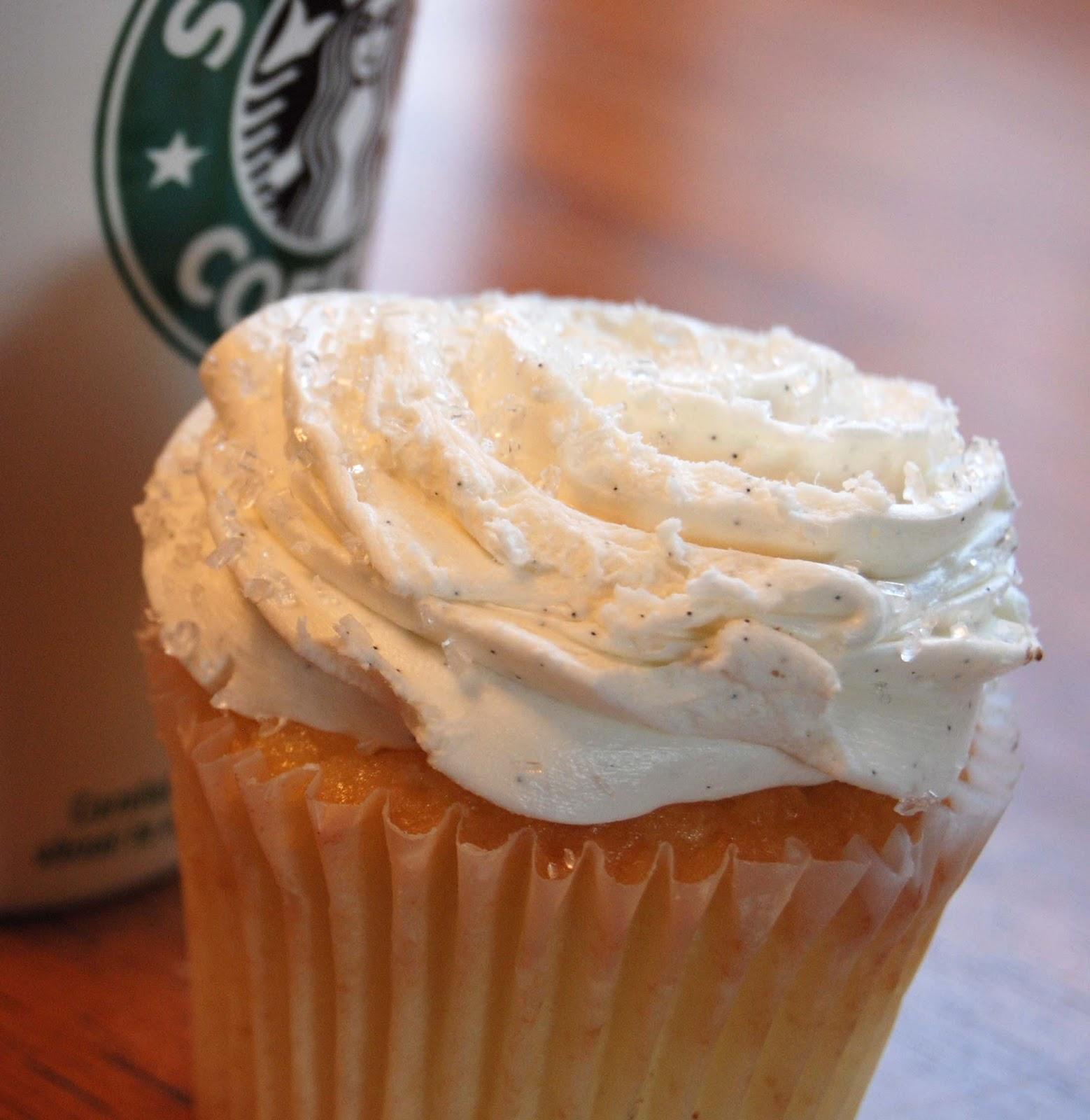 Starbucks Vanilla Bean Cupcakes Vanilla bean cupcakes