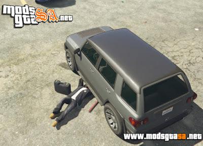 V - Mod Menu de Veículo para GTA V PC