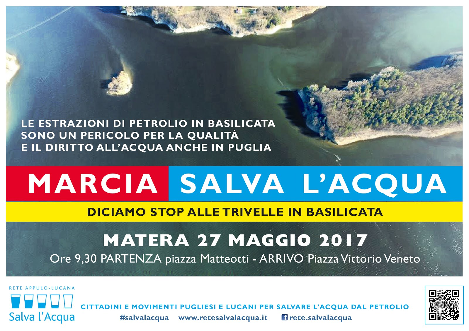 MARCIA #SALVALACQUA a Matera