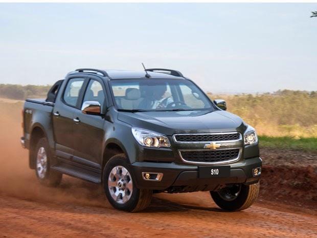 Nova Chevrolet S10 2015 fotos cabine dupla