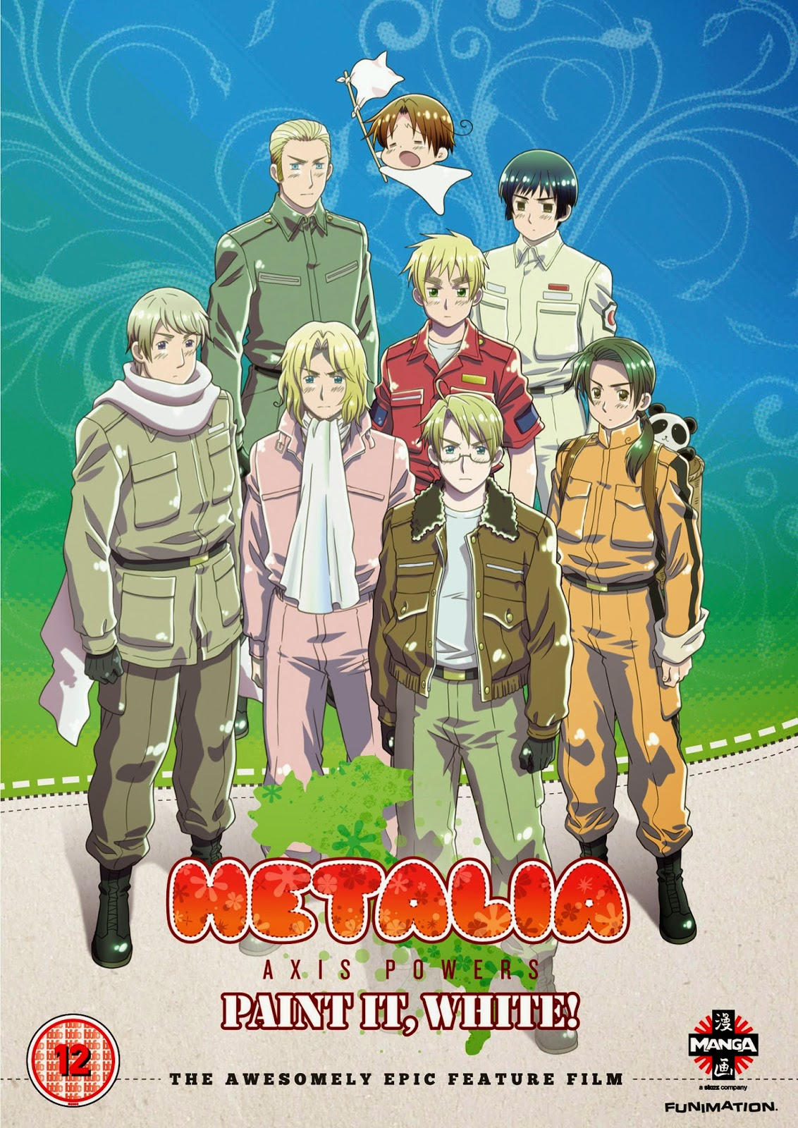 Movie Review: Hetalia! Paint it, White