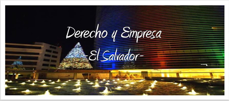 Derecho y Empresa - El Salvador -