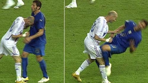 Misteri tandukan zidane pada Materazzi