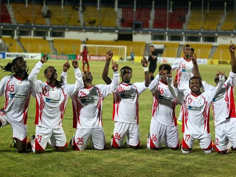 Hasil Pertandingan Persipura Jayapura 0-6 Al Qadsia