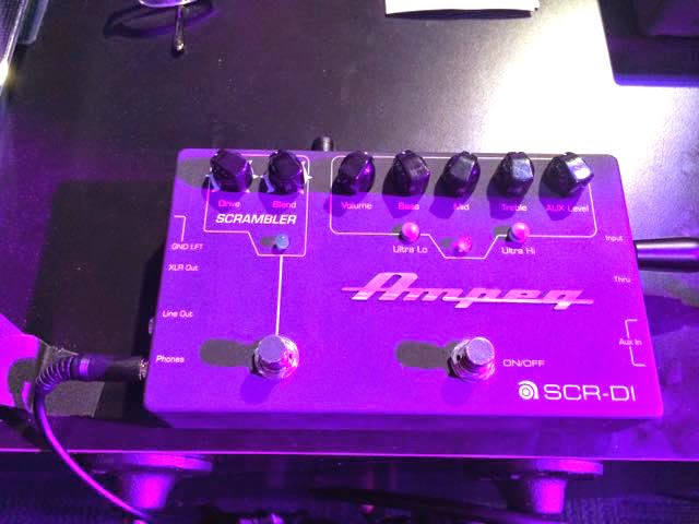 Ampeg SCR-DI bass direct box image