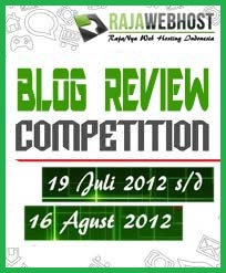 blog review competition rajawebhost 2012 rajanya web hosting murah indonesia