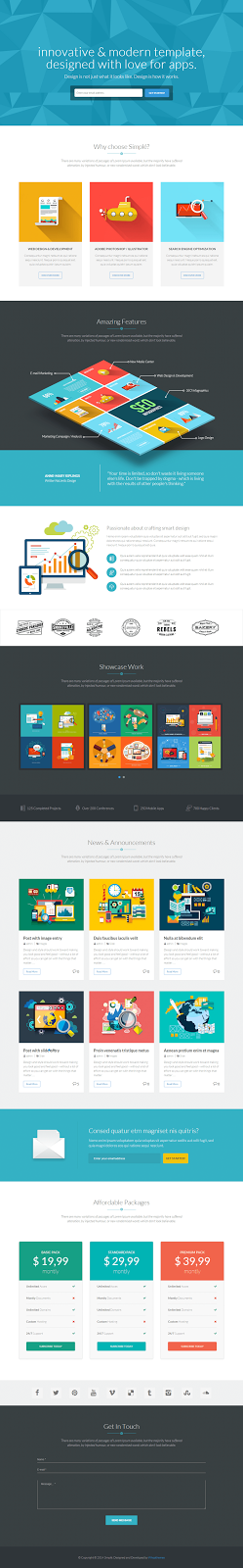 Bootstrap WordPress Theme 2015