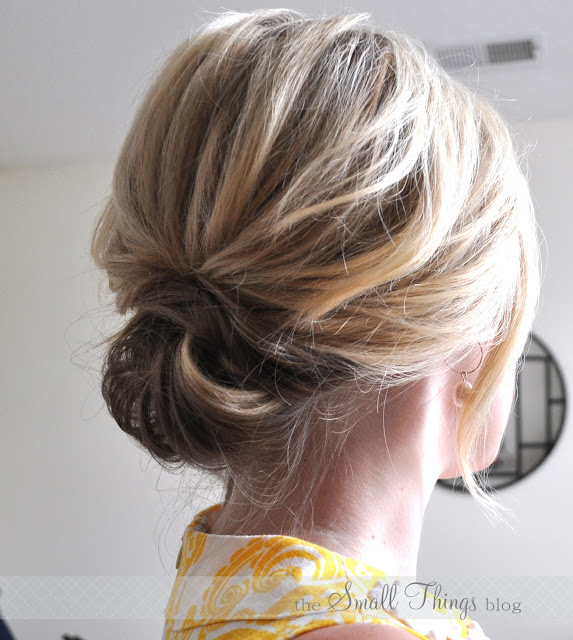 The sideways french twist the small things blog from the knot solutioingenieria Images