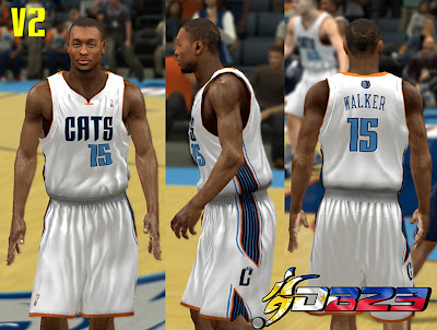 NBA 2K13 Charlotte Bobcats Home Jersey Patch
