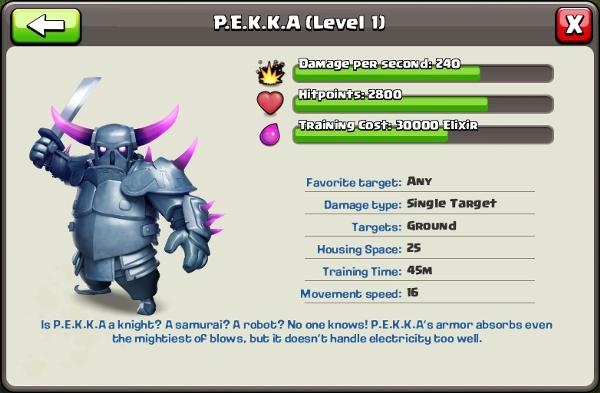 clash of clans pekka level 4 - photo #6
