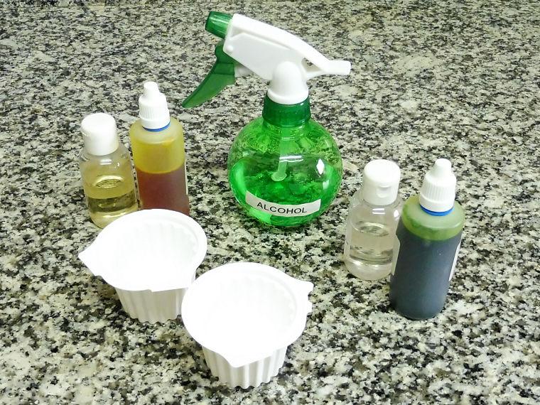 Piruletas de jabón cítrico