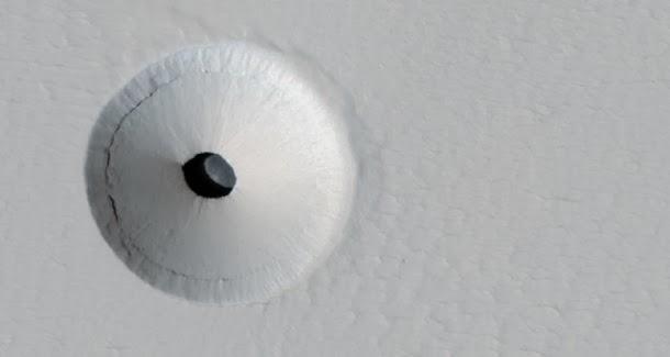 Buraco em Marte pode ser a nossa melhor chance de encontrar vida