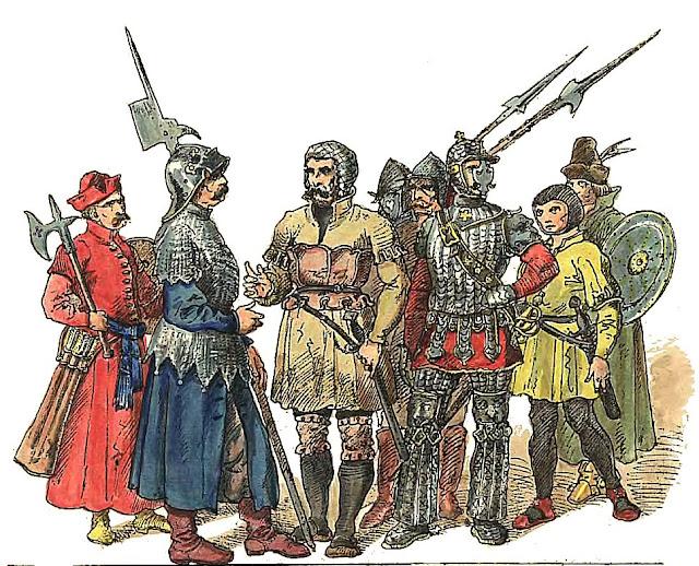 Żołnierze_polscy_1507_1548_Jan_Matejko