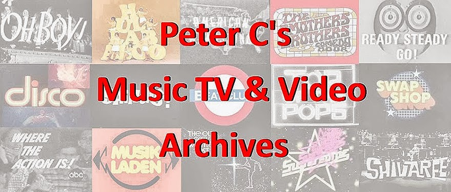 Peter C's Music TV & Video Archives