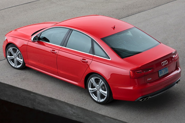 2015 Audi Model Of S6 overview back voew