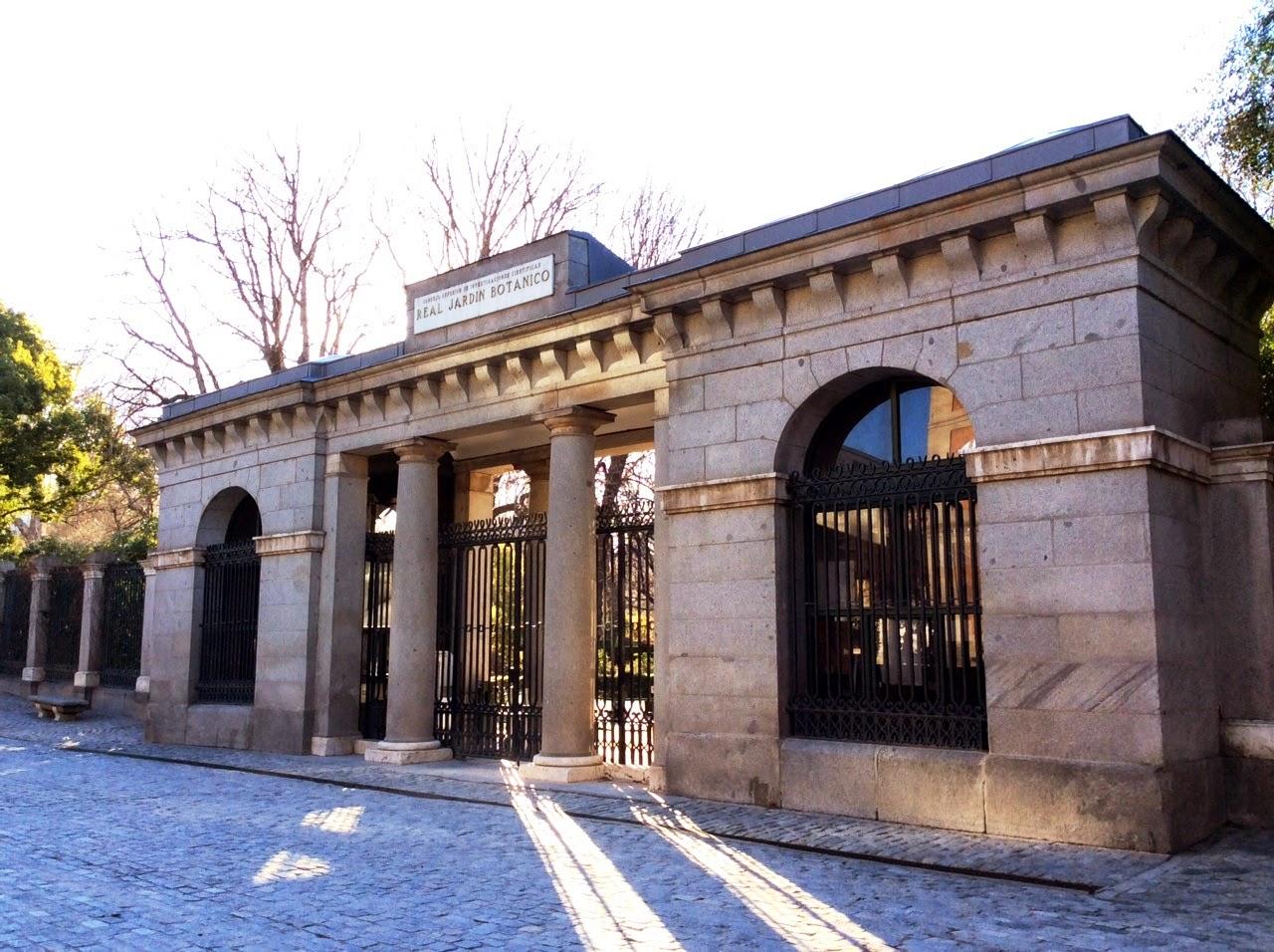 Pasi n por madrid la puerta norte del jard n bot nico for Entrada jardin botanico madrid