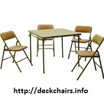 Cosco Folding Chairs Set with Table