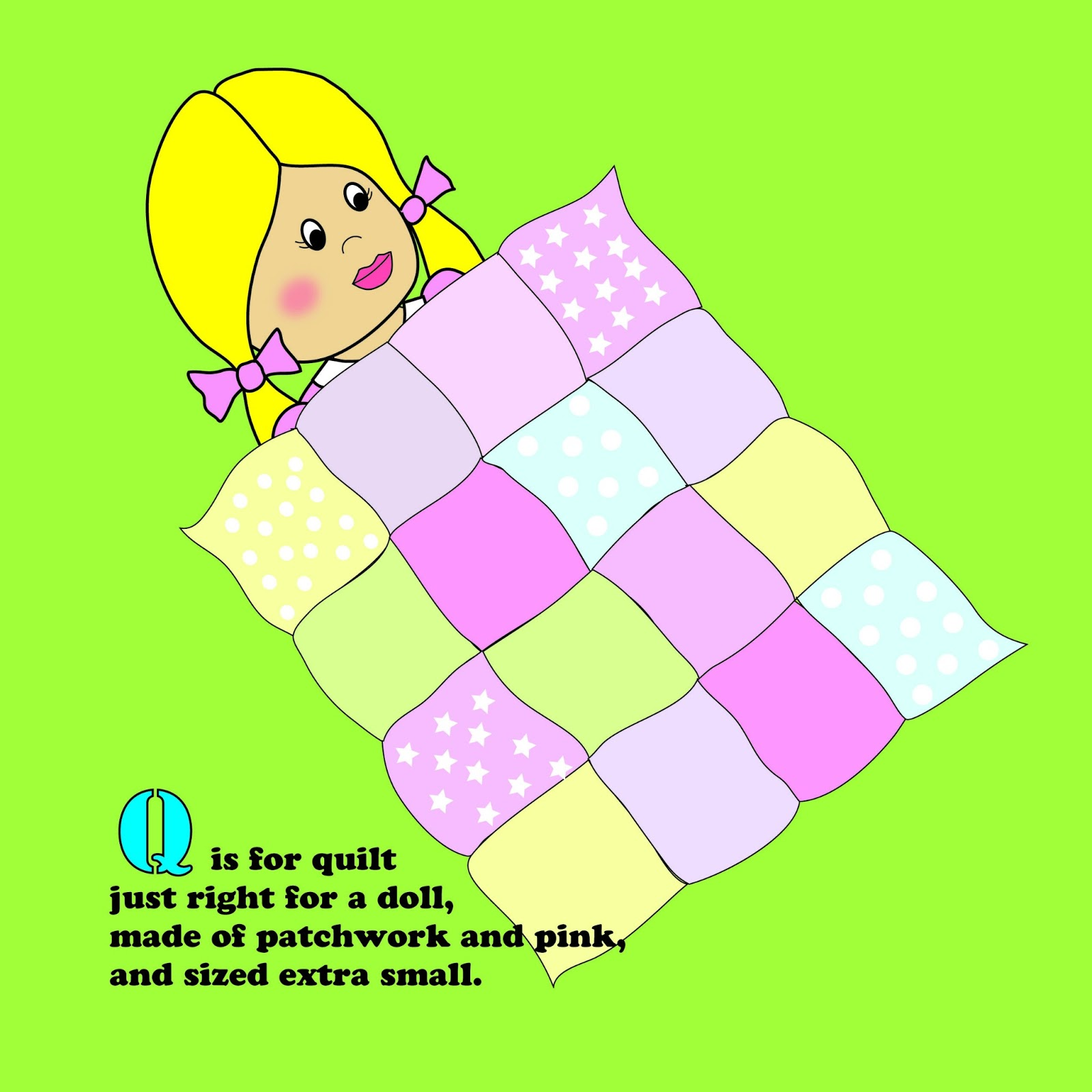 Q For Quilt & Q Is For Quilt Coloring Page Image Clipart Images ... : q is for quilt - Adamdwight.com