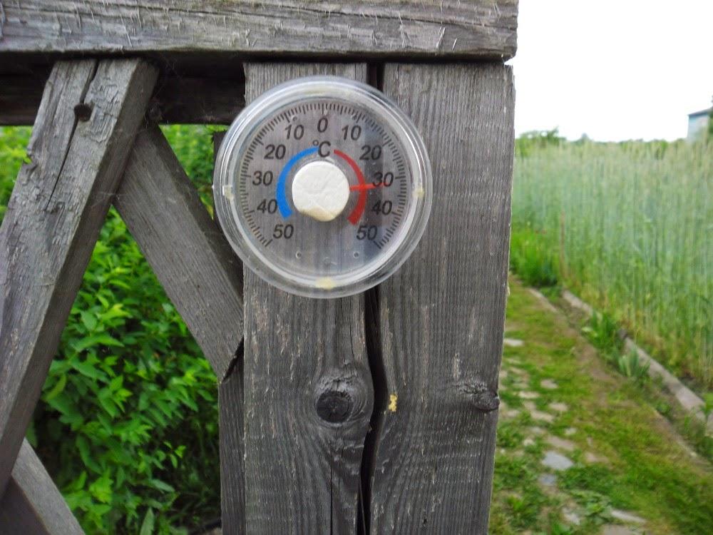Наружный термометр
