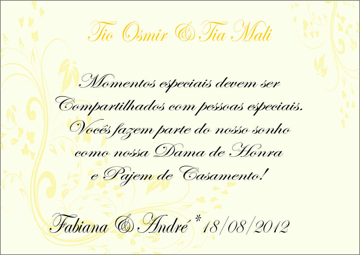 Nosso Casamento Fabi Amp Andr 233 Maio 2012