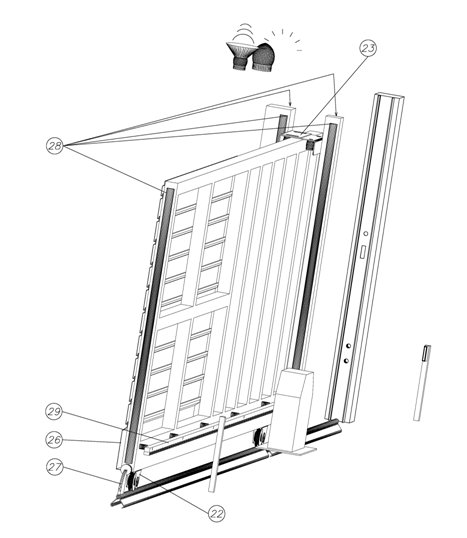 Puertas autom ticas puerta corredera componentes - Burlete puerta corredera ...