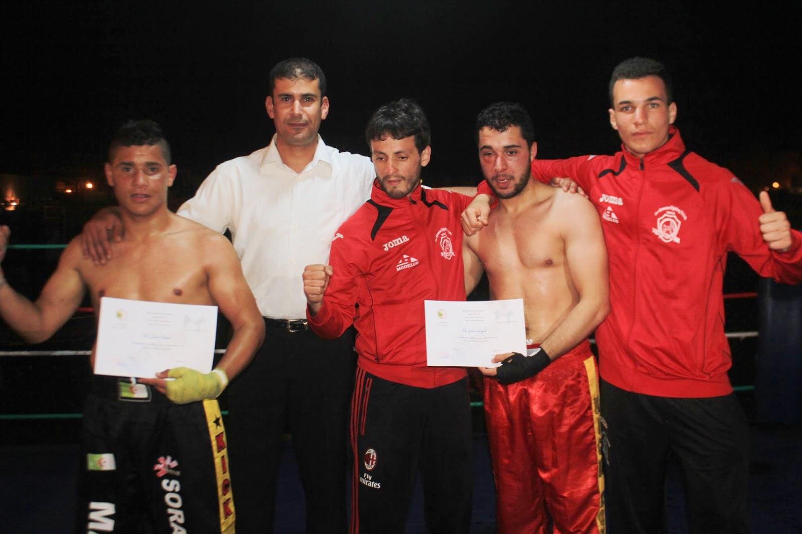 التظاهرة الثقافية الرياضية التي نظمتها جمعية آمال الشباب مرسى بن مهيدي