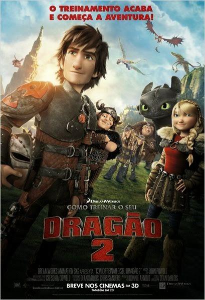 Filme Como Treinar O Seu Dragão 2 Dublado AVI BDRip