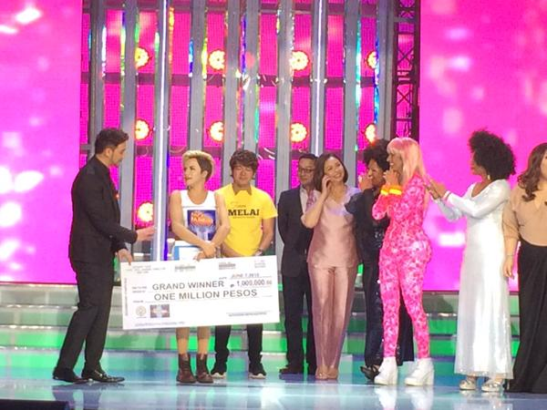 Melai grand winner Your Face Sounds Familiar