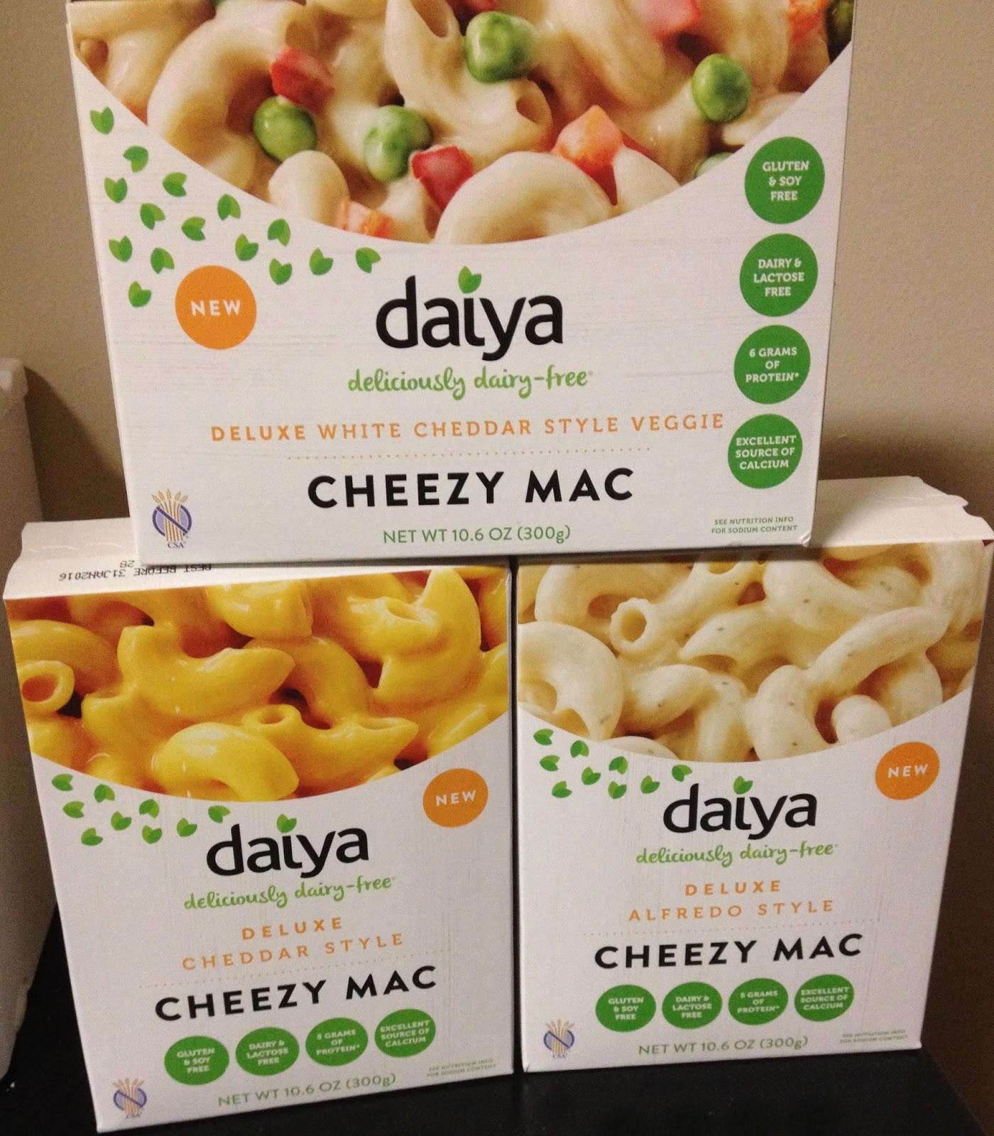vegan mac and cheese daiya