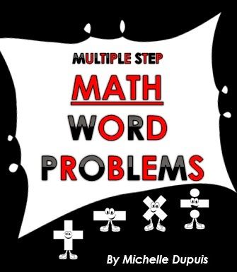 Multiple Step Word Problems (click on the image)