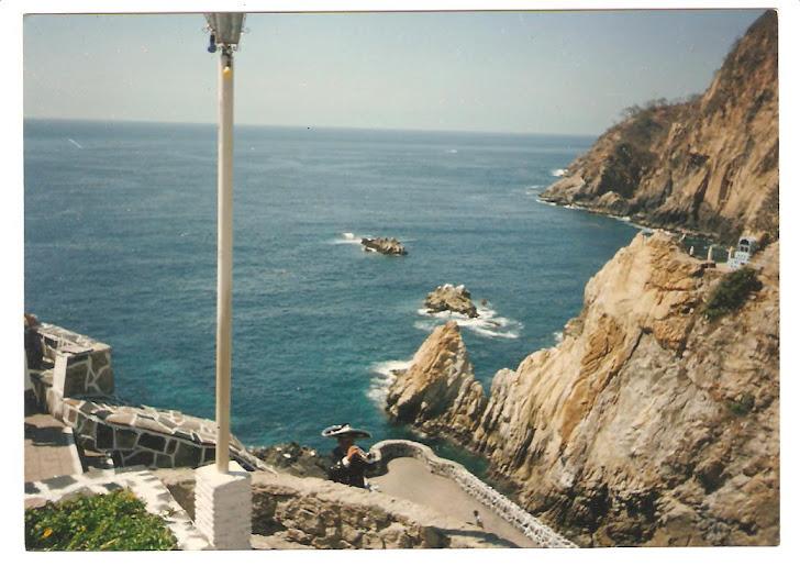 César Rivera - La Quebrada - Acapulco - México - Año 1985