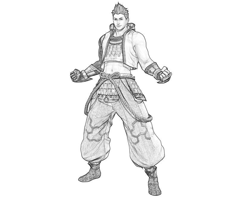 ieyasu-tokugawa-character-coloring-pages