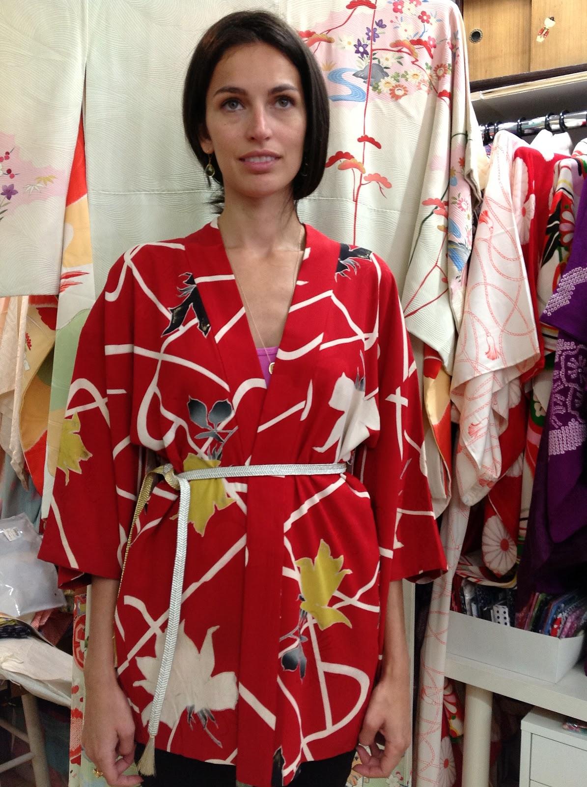 Kimono Jacket from Kimono House New York City
