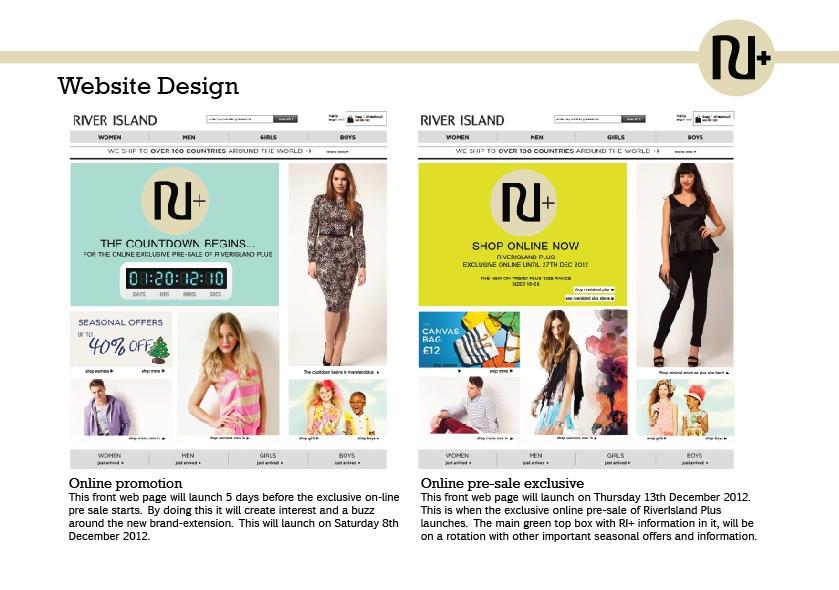 week day names and design visual merchandising
