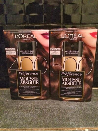Couleur réutilisable L'Oréal