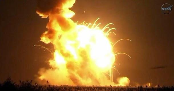 Foguete Antares da NASA explode durante lançamento (com video)